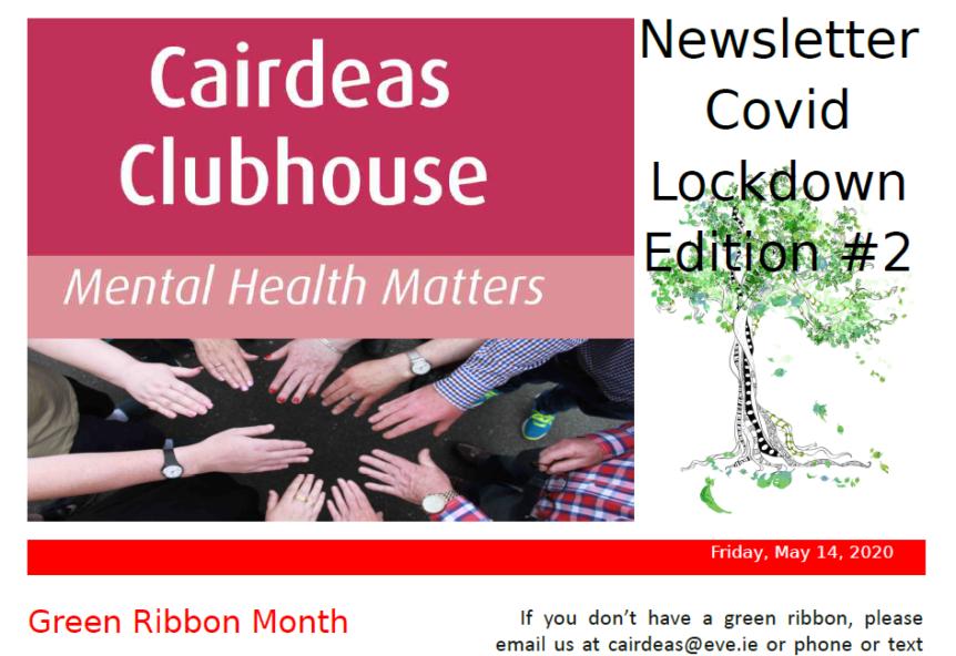 Cairdeas newsletter
