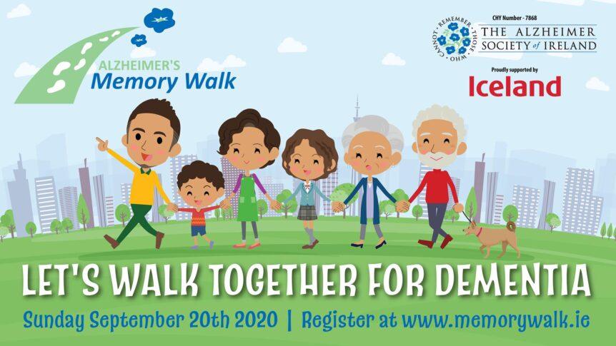 Alzheimer's Memory Walk poster