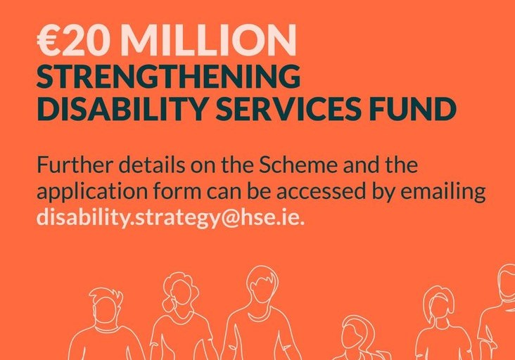 Strengthening Disability Services Fund poster