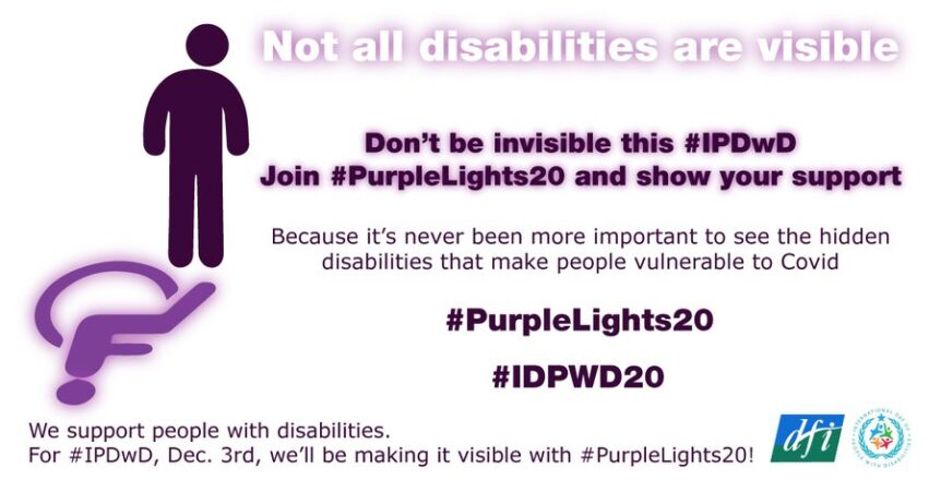 Purple Lights 20 poster