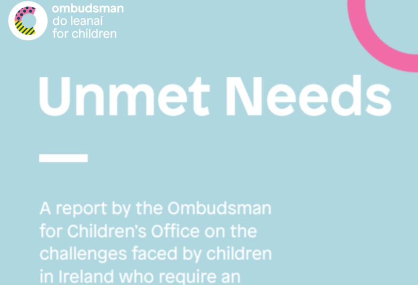 Unmet Needs report cover