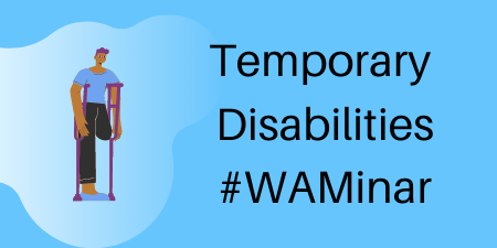 Temporate Disabilities webinar poster