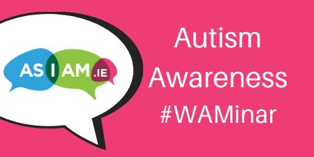 Autism Awareness Webinar poster