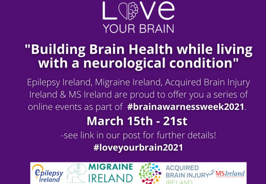 Brain Awareness Week 2021 flyer