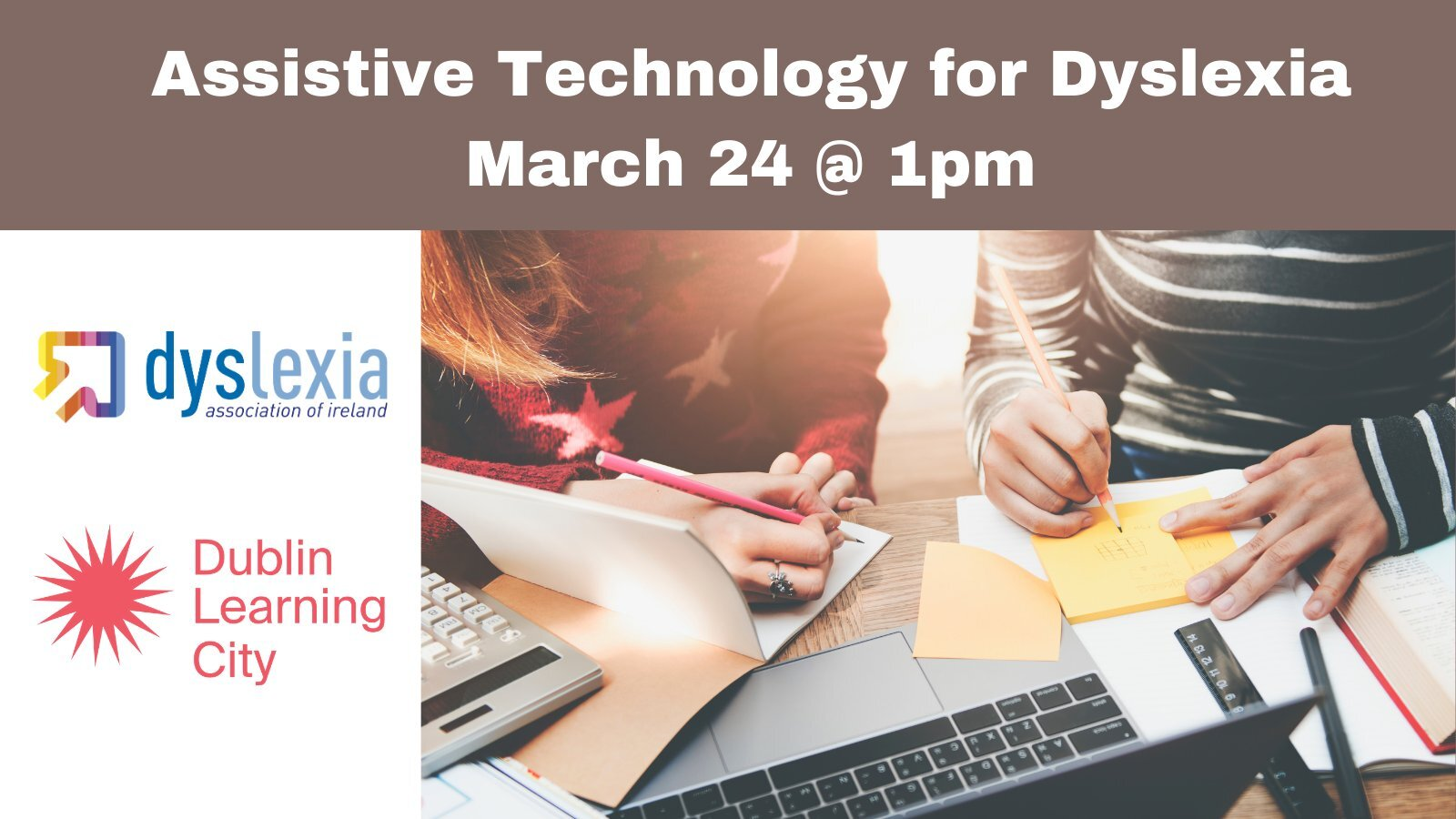 DIA Assistive Technology Event poster