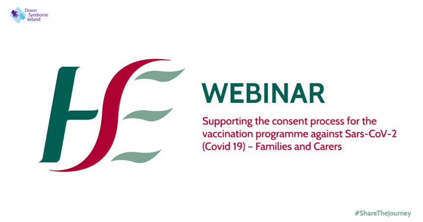 Flyer HSE webinar on supporting consent process