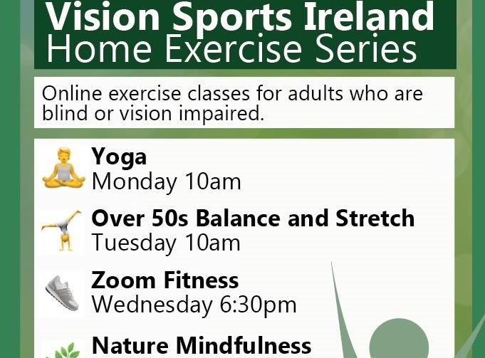 Vision Sports Ireland poster