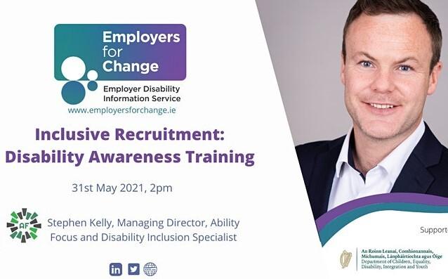 Inclusive Recruitment Seminar flyer