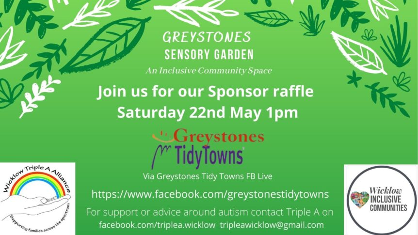 Triple A poster Sensory Garden