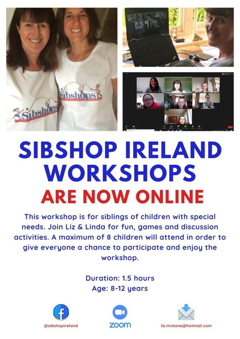 Poster for Sibshop workshop