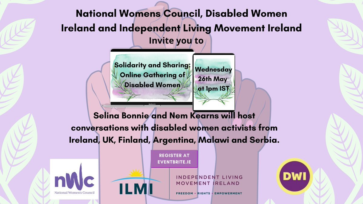 Solidarity and Sharing event flyer