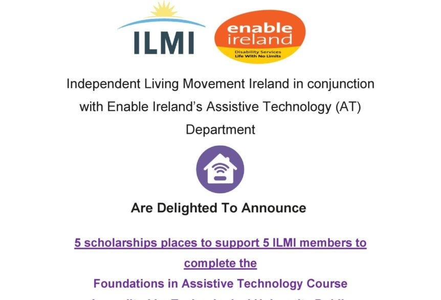 ILMI AT scholarships poster