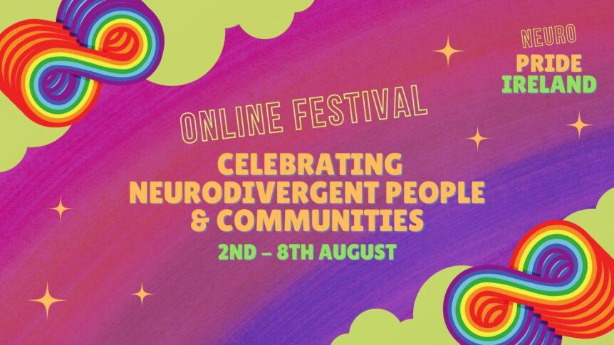 Neuro Pride Ireland Festival poster