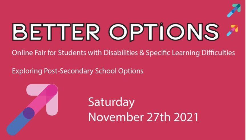Better Options 2021 poster