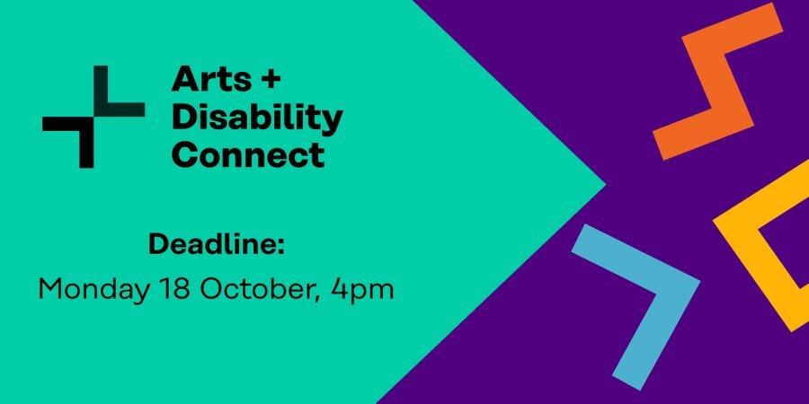 Arts & Disability Connect Scheme flyer